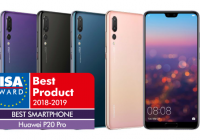 Huawei P20 Pro named EISA Best Smartphone 2018-2019