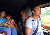 Average income of trucker drivers in China 6,000 Yuan ($900) /month