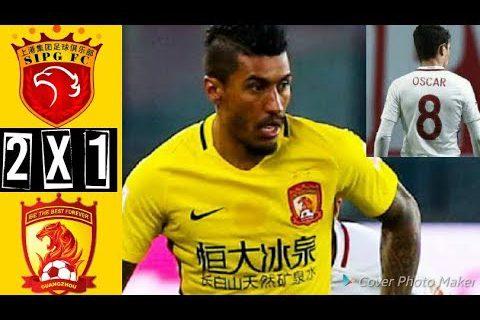 [2018.09.18] Shanghai SIPG 2:1 Guangzhou Evergrande – Chinese Super League