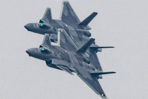 [J-20] Chinese J-20 Stealth Fighter 2018 New Images