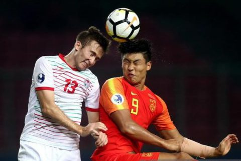[2018.10.20] China U19 0:1 Tajikistan U19
