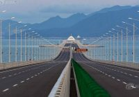 Hong Kong–Zhuhai–Macau Bridge (55KM)