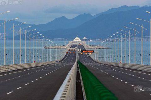Hong Kong–Zhuhai–Macau Bridge (55KM)