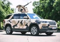 Changan SUV goes war style