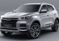 Chery Tiggo 5x facelift 2019 model