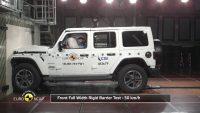 2018 Euro NCAP Crash Test of Jeep Wrangler 1 star