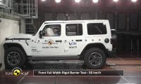 2018 Euro NCAP Crash Test of Jeep Wrangler 1 star