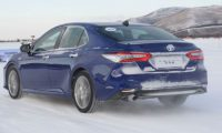 [Gallery] Toyota Camry Hybrid winter fun China