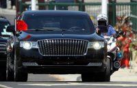 Chinese president promotes Red Flag HongQi brand