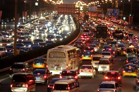 China's car population grows up to 240 million units in 2018