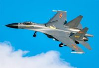 [2019.04.01] Chinese J-11 fighter jets crossed Taiwan Strait line
