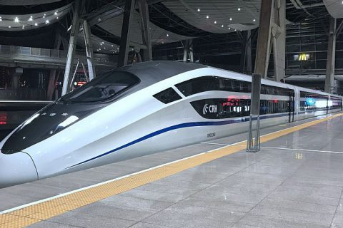 New double deck highspeed train in China