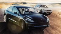 TESLA Model 3 vs BMW M3 Track Battle | Electric is Future