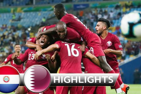 Asia football improving: Paraguay 2:2 Qatar – Copa America 17/6/2019