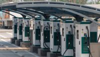 Charging stations for electric vehicles spread across China