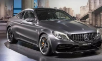 Mercedes-Benz AMG C63 equipped with 4×4 drive system