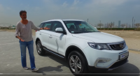 Geely Emgrand X7 Sport overview in Middle East