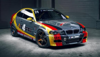 Real driver's car BMW M3 (E46)