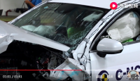 [Crash Test] BYD Qin Pro EV C-NCAP crash test video