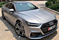 Dubai car owner and his new Audi A7