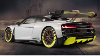 Audi R8 LMS GT2 race car