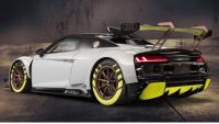 Audi R8 LMS GT2 race car