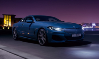 BMW M840i under the night