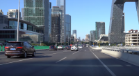 Dash Cam: Beijing 4K – Drive on East 3rd Ring Road – Beijing – China