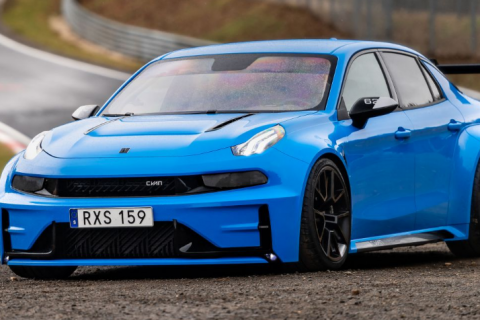 Lynk & Co 03 Cyan Concept Sets FWD And 4-Door Nurburgring Records