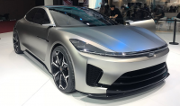 The Enovate ME-S is a fully electric Chinese supercar
