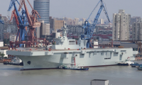 Chinese Navy Type 075 LHD amphibious assault ship