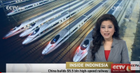 China building the first high-speed railway in Indonesia
