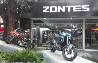 [Zontes] Chinese motorcycle manufacturer opens its first Mexico dealership
