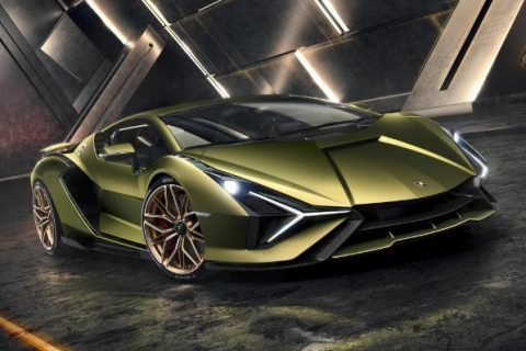 Sián – Fastest and most powerful Lamborghini