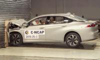[Crash Test] GAC Aion S electric sedan C-NCAP crash test