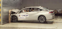 [Crash Test] GAC Aion S electric sedan C-NCAP crash test