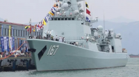 [DDG 167] First modern warship of Chinese Navy