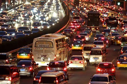 China's car population: 250 million in 2019