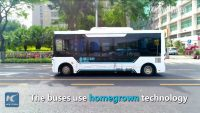 Self-driving buses hit the road in China's Shenzhen