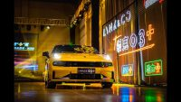 Competition of GTI Megana RS and Lynk&Co 03+ Chiese Performance Vehicle