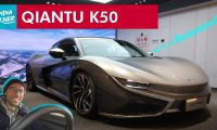 Driving China's first EV Sports Car – Qiantu K50