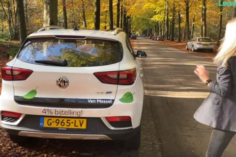MG ZS EV – AutoWeek Review in Holland
