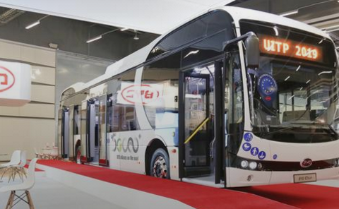 Dutch transport company orders 259 BYD electric buses