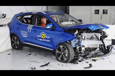 MG ZS – 2017 – Crash test Euro NCAP