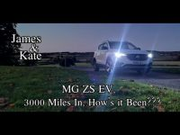 MG ZS EV, 5000 KM review by James and Kate