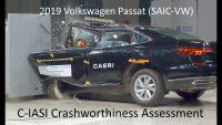 2019-2020 Volkswagen Passat C-IASI Crashworthiness Tests