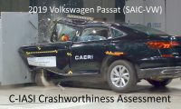 2019-2020 Volkswagen Passat C-IASI Crashworthiness Tests