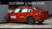 2020-2021 BMW 3-Series (325Li – G20) C-IASI Crashworthiness Tests