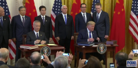 [2020.01..15] Trump signs phase one of US-China trade deal