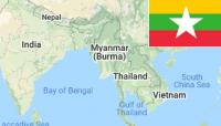 [Myanmar] [Burma] 石油通道 补给港口 海军基地